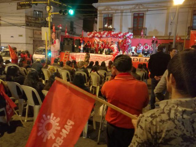 PAN-BOL proclama a sus candidatos en Chuquisaca