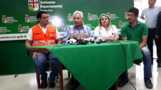 Incendios afectan 500 mil has de bosques; Roboré y San Ignacio, los más afectados