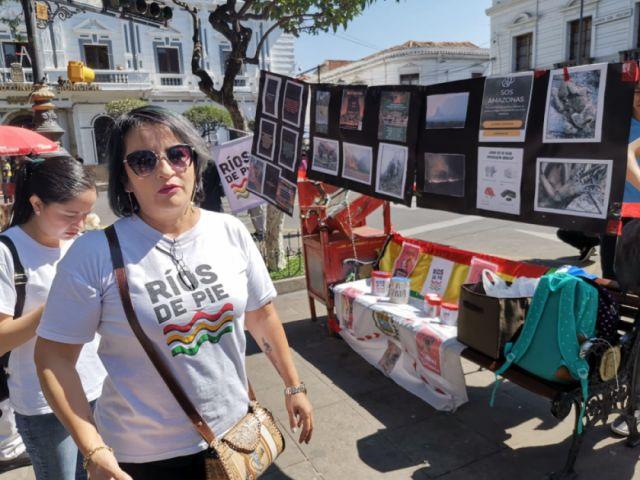 Campañas a favor de la Chiquitanía se intensifican en Sucre