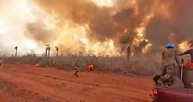 Incendios: Polémica por el uso  de contrafuego en la Chiquitanía
