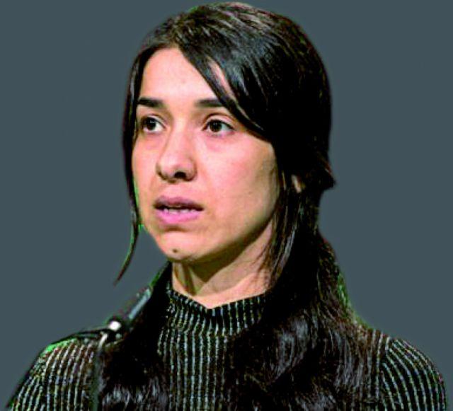 Nadia Murad llega hoy con un mensaje de paz
