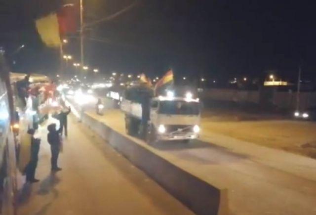 Delegaciones de Chuquisaca y Potosí llegan a Oruro y fortalecen su caravana - Correo del Sur