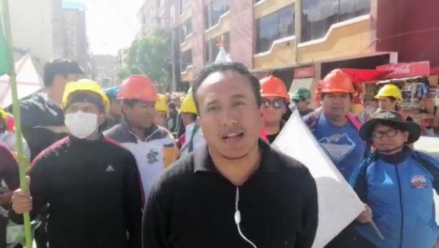 Delegación chuquisaqueña permanece en vigilia en Oruro - Correo del Sur