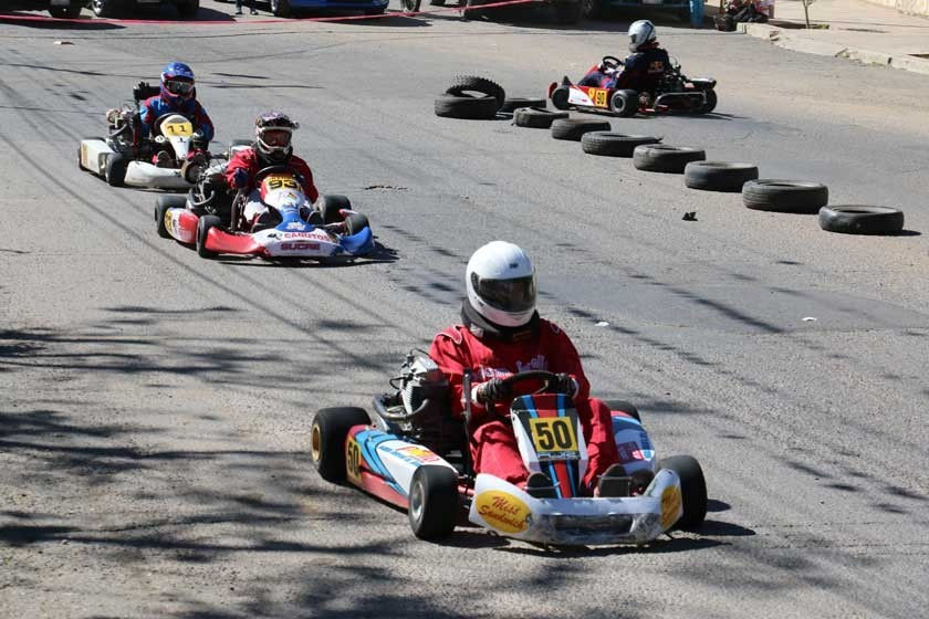 Karting: Gutiérrez y Amonzabel dominan