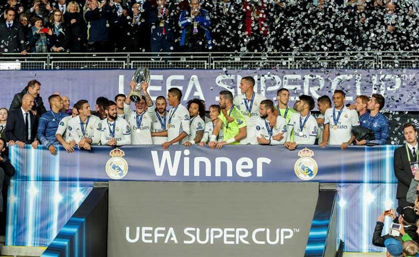 Real conquista la Supercopa