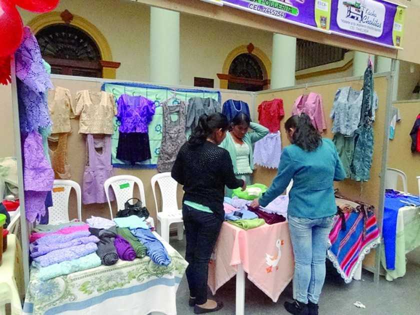 Fautapo fortalece a mujeres productoras