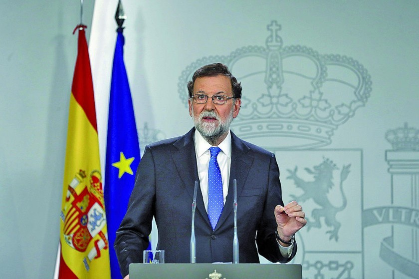 Rajoy ofrece diálogo pero supeditado al orden legal