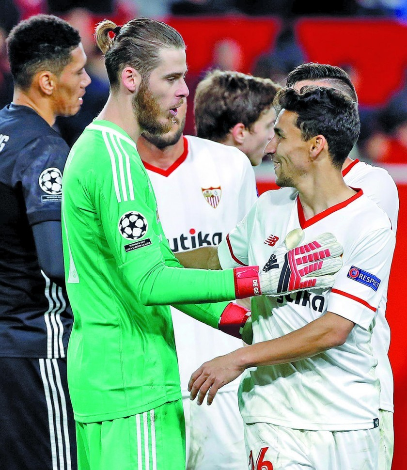 David De Gea frena al Sevilla