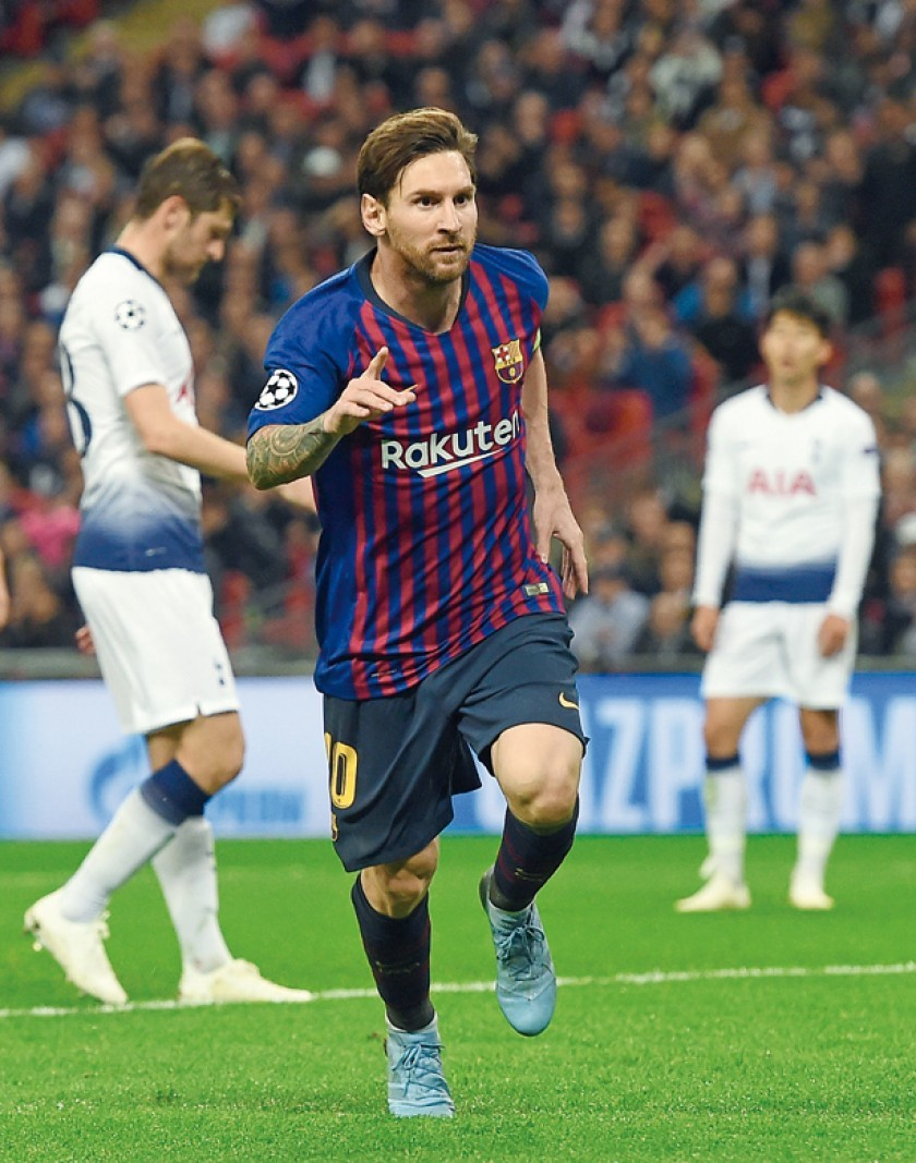 Messi no falla