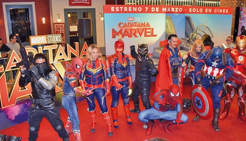 En Perú hay 50 Thors, 23 Hulks y un Spiderman
