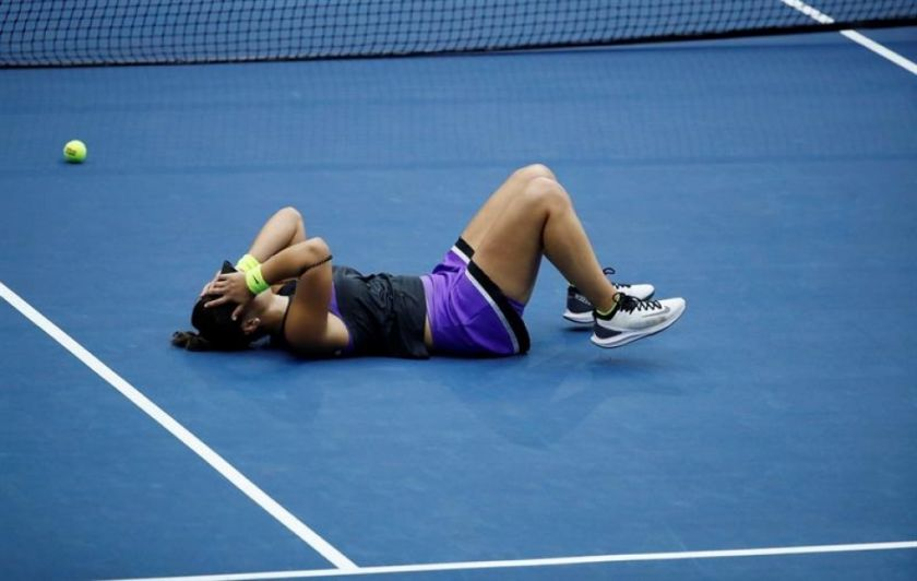 Una indomable Andreescu supera a Serena Williams y gana el Abierto de EEUU