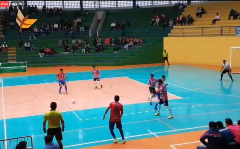 Futsal: Universitario vs Antofagasta