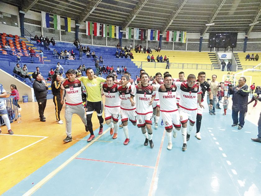Fancesa se corona campeón del futsal local