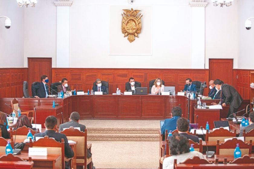 El MAS propone diez cambios a la ley de juicio de privilegio