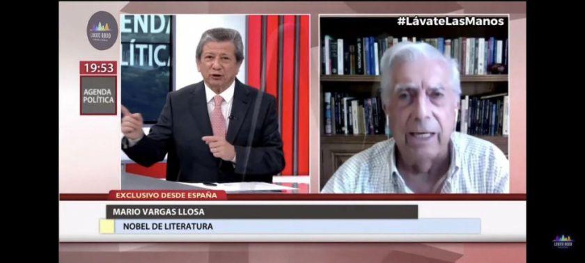 "Vargas Llosa: ""Evo Morales está acostumbrado a mentir"""