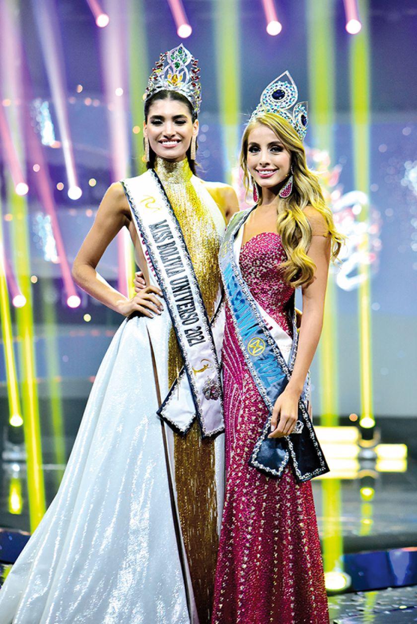 Cruceña Nahemi, de 20 años,  es Miss Bolivia Universo 2021