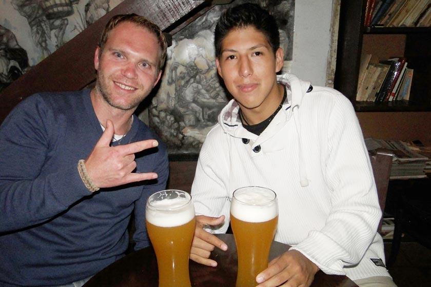 Miguel Brunner y Diego Reyes.