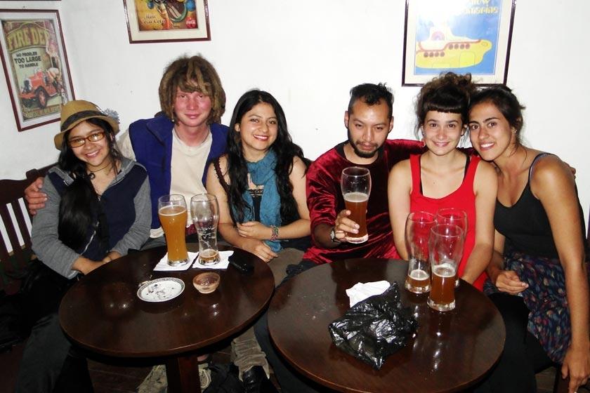 Claudia, Mauricio, Marcela, Javier, Margarita y Aylin.