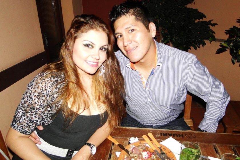 Cristiane Gracioli y Ricardo Tapia.