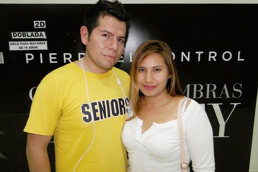 Ronald Calvimontes y Olga Flores