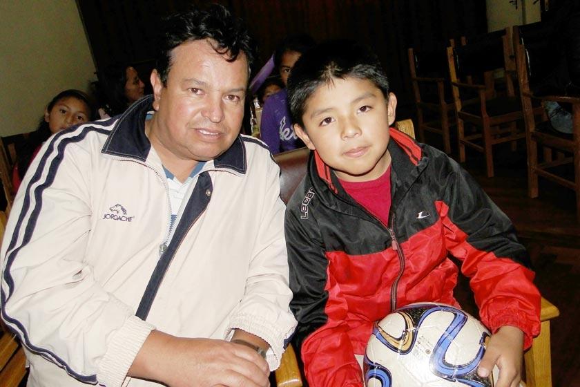 Fernando y Juan Pablo Iraola