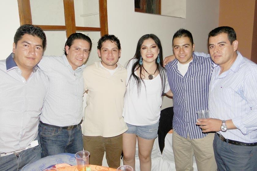 Carlos Curcuy, Héctor Tezanos, José Luis Rodríguez, Viviana Balcázar, Rodrigo Díaz y Mauricio Poppe