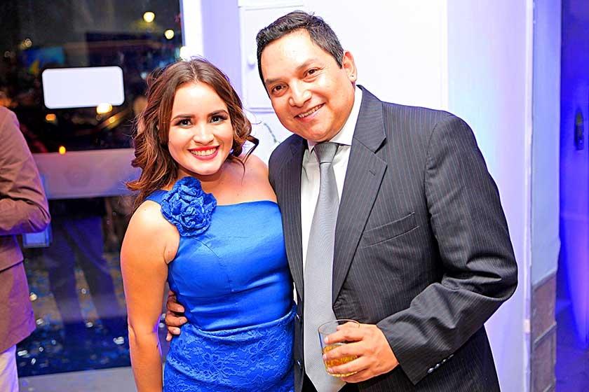 Ariane Arredondo y Marco Torres
