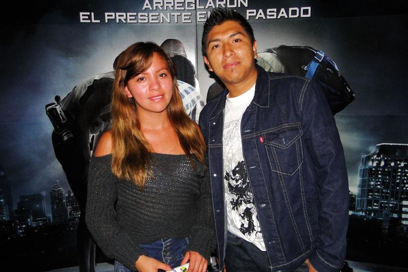 Daniela Hassenteufel y Ronaldo Poma