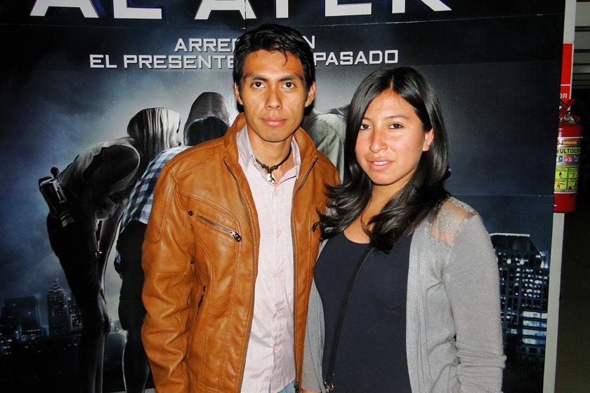 Daniel Céspedes y Solange Núñez