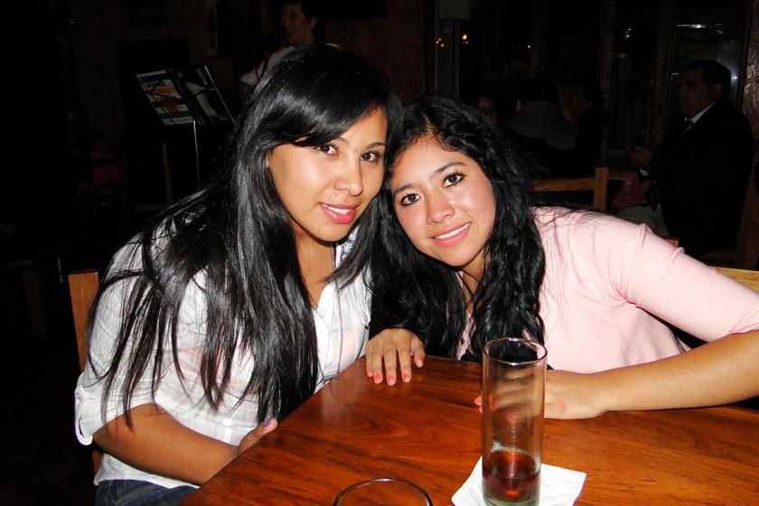 Ana Vargas y Karen Guevara
