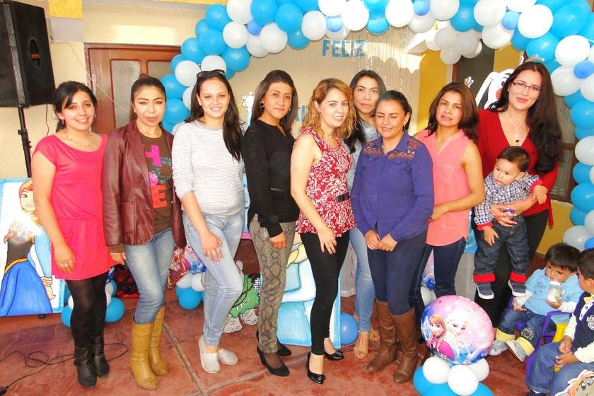Marcela Reynolds, Rhina Bustillos, Vanessa Stumvoll, Verónica Cardozo, Judith Barrero, Laura Calvi, Marcela Heredia