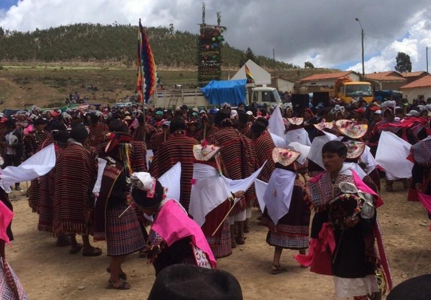 Varias actividades se cumplen en el aniversario de la Batalla de Jumbate. Foto: Gentileza