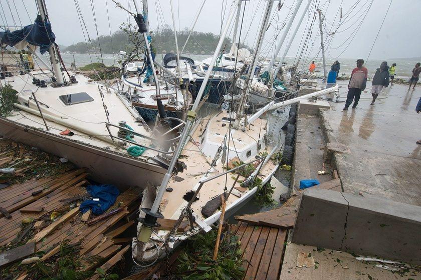 El ciclón Pam fue devastador. Foto: EFE