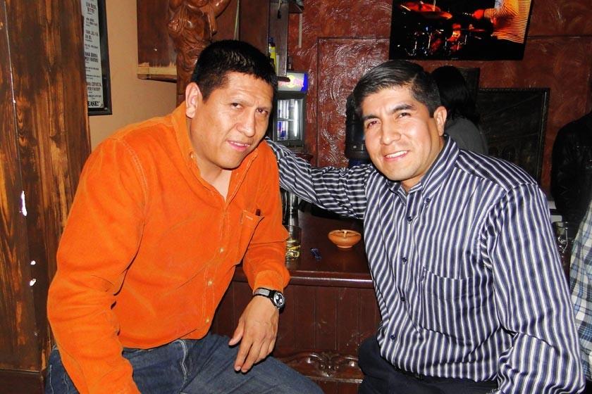 Tito Beltrán y Gilmar Sandy