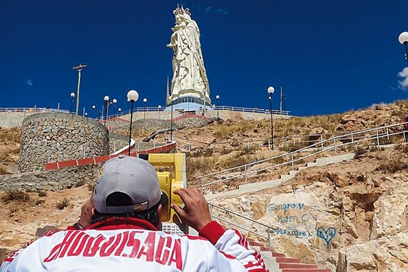 El trabajo de la empresa chuquisaqueña en Oruro.