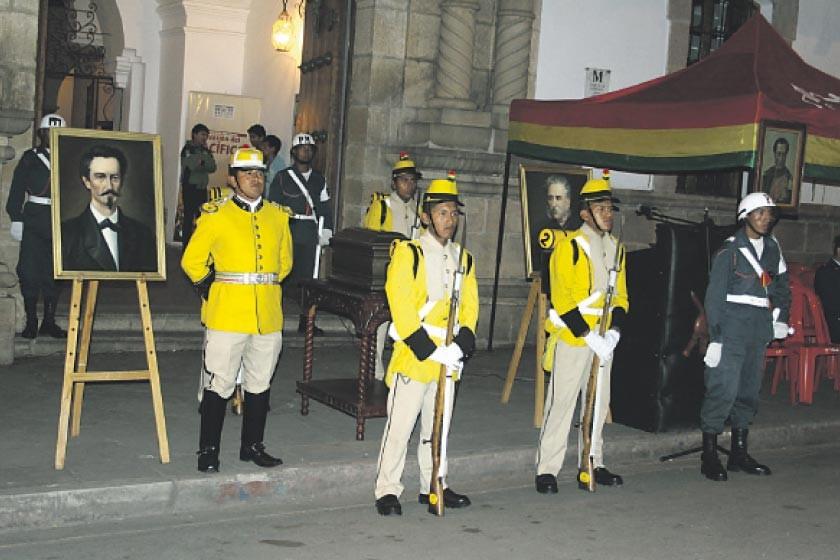 Sucre rinde homenaje a reivindicación marítima