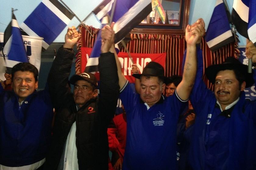 Adrián Valeriano vuelve a filas del MAS. Foto: CORREO DEL SUR