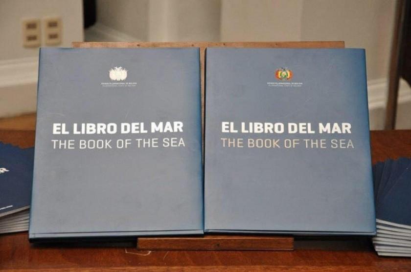 El Libro del Mar será un texto oficial para las escuelas y colegios. Foto: Gentileza