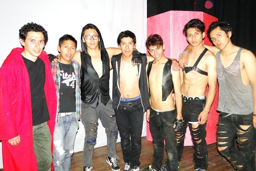 Luís Alvarado, Christian Cesar, Guimer Gómez, Oliver Gregorio, Emilio Ramírez, Víctor Sánchez, y Daniel Daza.