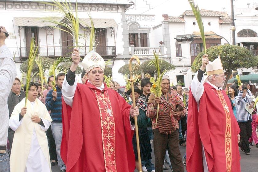 Iglesia invita a participar del Domingo de Ramos
