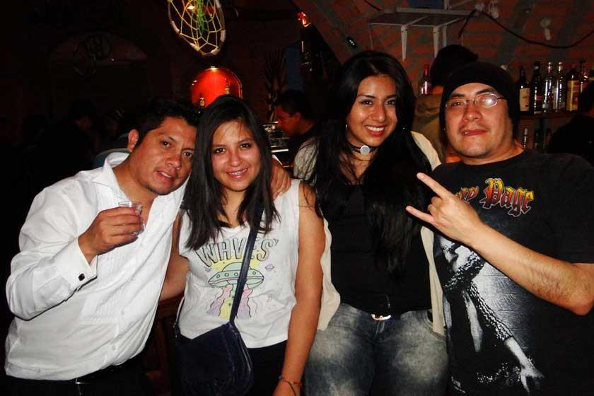 Álvaro Monrroy, Maya Negrón, Stephanie Medina, Gustavo Silva.