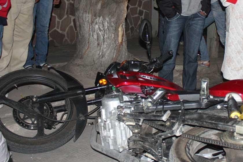 Reportan seis accidentes de moto durante el  fin de semana