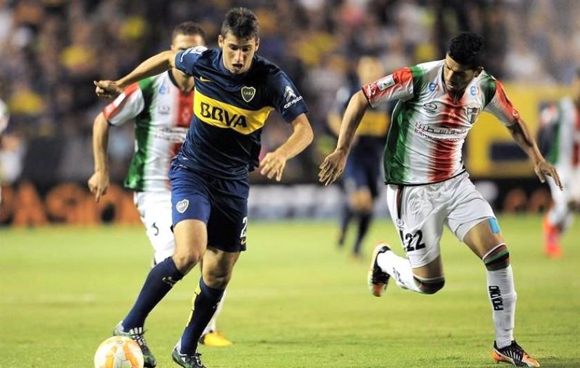 Boca Juniors avanzó a octavos de final. Foto: EFE