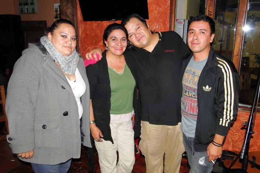 La Quimera junto a Tone Loayza