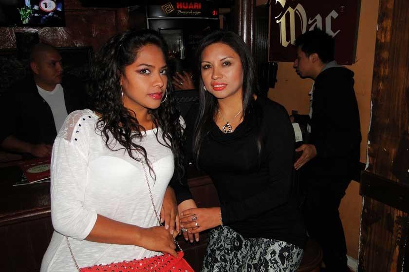 Fleria y Zulema Roque.