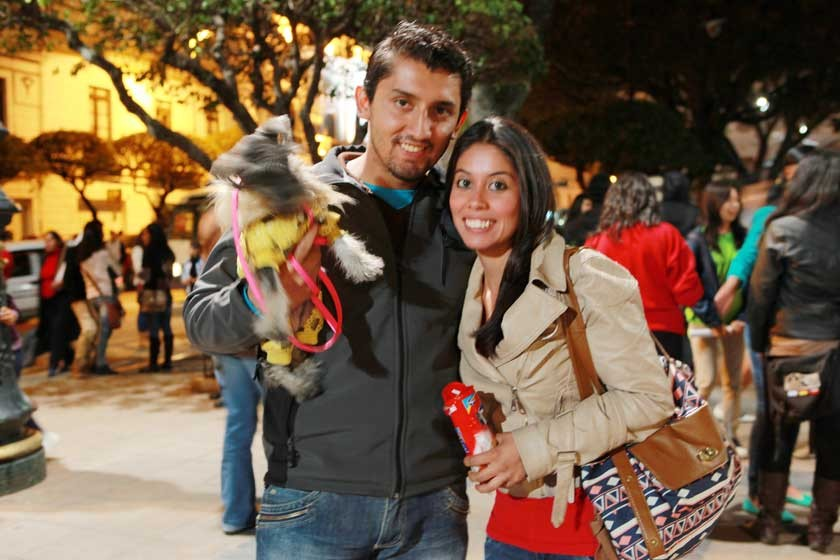 Channel, Diego Antezana y Jimena Vera.