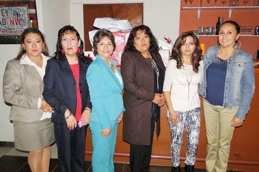 Directorio del Colegio de Secretarias de Bolivia Filial Sucre.