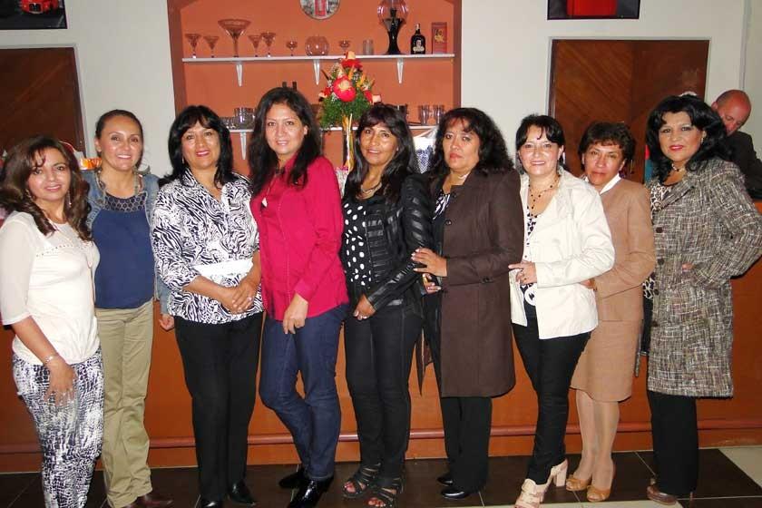 Trabajadoras de la Universidad Mayor Real y Pontificia San Francisco Xavier de Chuquisaca