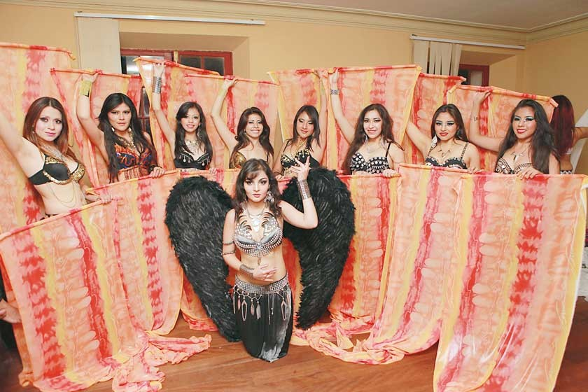 Danza Arabe Estudio Ballet Gildance.