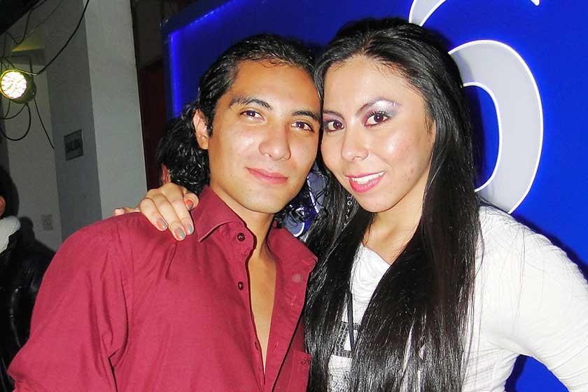 Fabricio Valda y Viviana Cortez.